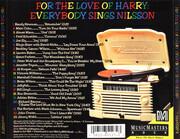 CD - Randy Newman / Marc Cohn / Aimee Mann a.o. - For The Love Of Harry - Everybody Sings Nilsson