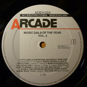 Double LP - Sade, Billy Ocean - Music Gala Of The Year Vol. 3
