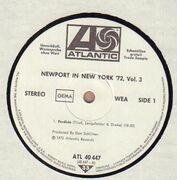 LP - Nat Adderley, Jaki Byard, Tyree Glenn a.o. - Newport In New York '72 (The Jam Sessions) Volume 3 - promo