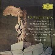 LP - Beethoven / Brahms / Schumann / Mendelssohn-Bartholdy - Ouvertüren - tulip rim
