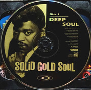 Double CD - Stevie Wonder / Barry White / Gladys Knight & The Pips a.o. - Solid Gold Soul - Deep Soul