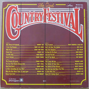 Double LP - Johnny Cash, Faron Young a.o. - The Great Country Festival