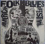 LP - Memphis Slim, T-Bone Walker a.o. - The Original American Folk Blues Festival