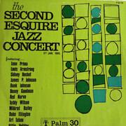 LP - Louis Armstrong / Benny Goodman / Duke Ellington - The Second Esquire Jazz Concert 17th Jan. 1945