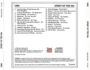 CD - Dusty Springfield / The Mindbenders / etc - The Spirit Of The 60s: 1966