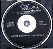 CD - Paul Nero's Blue Sounds / The Pretty Things / Dave Dee, Dozy. Beaky Mick & Tich - The Star-Club Singles Complete Vol.9