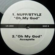 12inch Vinyl Single - Usher, Vybz Kartel, Nuff Stylz - Untitled