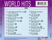 CD - Dusty Springfield / Frankie Vaughan / a.o. - World Hits 1963