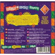 CD - Baaba Maal, Djavan, Aurora, a.o. - World Of Music Sampler - Still Sealed, Cardboard Box