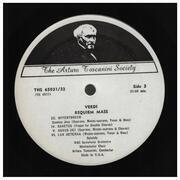Double LP - Verdi (Toscanini) - Requiem Mass - Gatefold / Mono