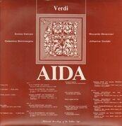 LP - Verdi - Caruso / Stracciari / Gadski / Boninsegna - Aida