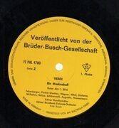 LP-Box - Verdi - F. Busch - Ein Maskenball - Hardcoverbox + Booklet