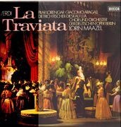 LP-Box - Verdi - Lorin Maazel - La Traviata - Hardcoverbox + Booklet