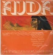 LP - Verdi - Aida, Caruso, Giannini, Tauber ...