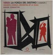 LP - Verdi / Armando La Rosa Parodi - La Forza del Destino - Hardcover Box