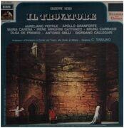 LP - Verdi / C.Sabajno, A.Pertile, A.Granforte, M.Carena - Il Trovatore - Hardcover Box
