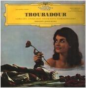 LP - Verdi - Der Troubadour (Querschnitt, dt.) - Tulip rim / Mono