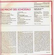 LP - Verdi - Die Macht Des Schicksals - Opernquerschnitt (Giuseppe Patanè)