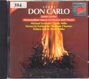 CD - Verdi - Don Carlo - Highlights