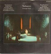 LP - Verdi/ G. Singer, N. Giusti, E. Wien, L. Winters a.o. - Nabucco - black label