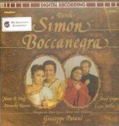 LP-Box - Verdi/ J. Gregor, L. Miller, G. Patané, Hungarian State Opera Chorus and Orchestra - Simon Boccanegra - booklet with libretto