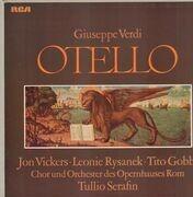 LP-Box - Verdi/ Jon Vickers , Leonie Rysanek , Tito Gobbi , Orchestra E Coro Del Teatro Dell'Opera - Otello - Hardcover Box + Original Insert