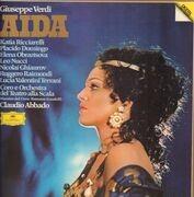 LP-Box - Verdi / K. Ricciarelli, P. Domingo, E. Obraztsova - Aida / Claudio Abbado - Hardbox + Booklet with Libretto