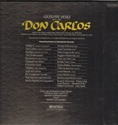 LP-Box - Verdi/ Karajan, Berliner Philhamoniker, J. Carreras, A. Baltsa, E. Gruberova, M. Freni - Don Carlos - booklet with libretto