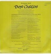 LP-Box - Verdi / Karajan, Berliner Philharmoniker, J. Carreras, M. Freni, E. Gruberova - Don Carlos - booklert with libretto