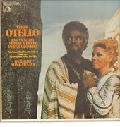 LP-Box - Verdi/ Karajan, Berliner Philharmoniker, J. Vickers, M. Freni, P. Glossop - Otello - booklet with libretto