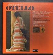 LP-Box - Verdi/ Karajan, Wiener Philharmoniker, R. Tebaldi, A. Protti, N. Romanato  a.o. - Otello - booklet with libretto