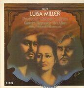 LP-Box - Verdi - Luisa Miller, Pavarotti, Caballe, Milnes