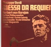 LP-Box - Verdi - Messa Da Requiem,, Karajan, Berliner Philh, Freni, Ludwig, Cossutta, Ghiaurov, Wiener Singverein