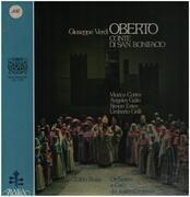 LP-Box - Verdi - Oberto - Conte Di San Bonifacio - Hardcoverbox + booklet