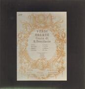 Double LP - Verdi - Oberto, Conte Di San Bonifacio - Hardcover Box