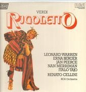LP-Box - Verdi/ R. Cellini, RCA Orchestra, L. Warren, E. Berger, J. Peerce - Rigoletto - booklet with libretto