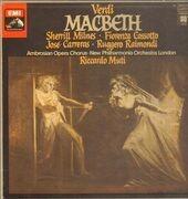 LP-Box - Verdi/ R. Muti, New Philharmonia Orch. London, S. Milnes, J. Carreras, F. Cossotto - Macbeth - quadrophonic , booklet with libretto