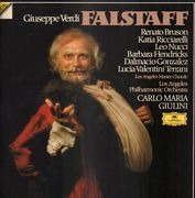 LP-Box - Verdi / Renato BRuson - Falstaff Carlo Maria Giulini - Hardbox + Booklet with Libretto