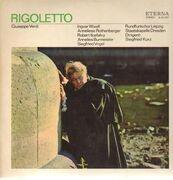 LP - Verdi - Rigoletto,, S. Kurz, Staatskapelle Dresden