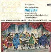 LP - Verdi / Thomas Schippers - Macbeth