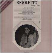 LP - Verdi / Umberto Mugnai - Rigoletto - Hardcover Box