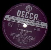 LP-Box - Verdi - Un Ballo In Maschera, Solti, Santa Cecilia, Rome