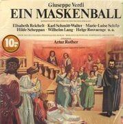 LP - Verdi, Elisabeth Reichelt, Karl Schmitt-Walter, ... - Ein Maskenball