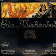 LP - Verdi, Enrico Caruso, Margarete, Lotte Schöne - Ein Maskenball