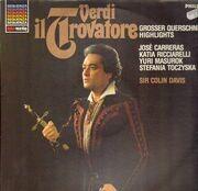 LP - Verdi, José Carreras, Katia Ricciarelli, Colin Davis,.. - Il Trovatore