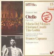 LP - Verdi, Mario Del Monaco, Floriana Cavalli, Tito Gobbi - Otello