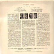 LP - Verdi - Drei Duette aus 'Aida' - Tulip Label / Gatefold