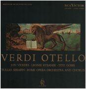 LP-Box - Verdi / Tullio Serafin, Rome Opera Orch. and Ch. - Otello - Hardcover Box