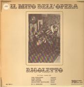 Double LP - Verdi - Rigoletto - Gatefold