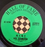 7inch Vinyl Single - Vic Damone - On The Street Where You Live